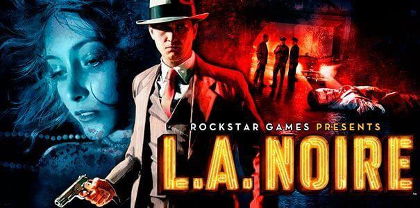 L.A. NOIRE logo