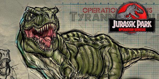 Jurassic Park Operation Genesis logo