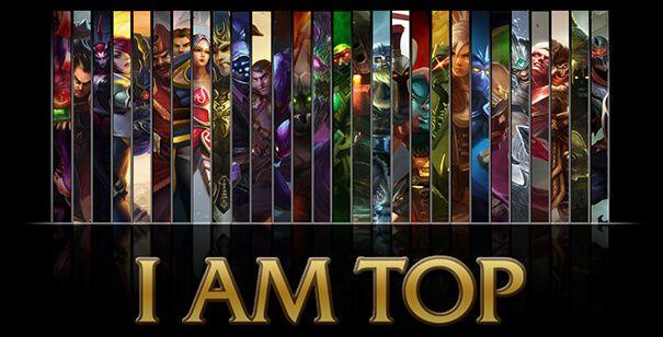 League of Legends Top laners