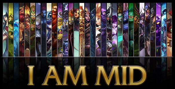 League of Legends MID Laners