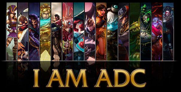 League of Legends AD Carrys