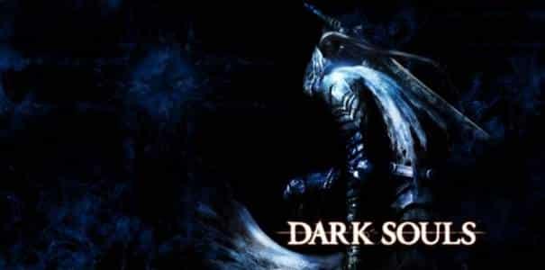 Personagem em Dark Souls.