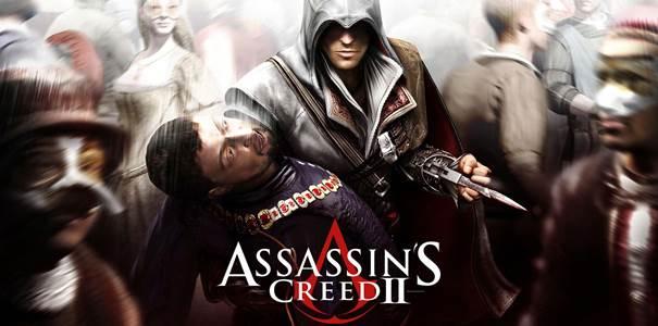 Logo da tradução de Assassin's Creed 2.