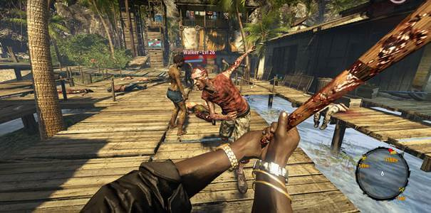 Gameplay de Dead Island Reptile.