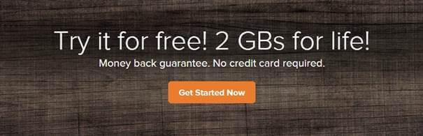 2GB gratuitos com o SpiderOak