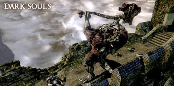 Monstro em Dark Souls.