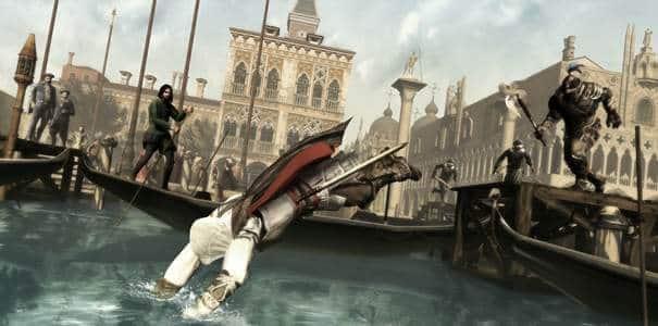 Cena de Assassin's Creed 2.