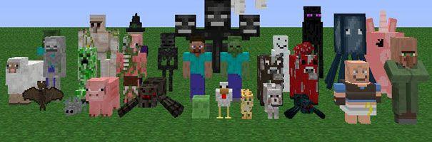 Criaturas Minecraft