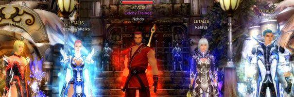 Imagem Da Guild Letalis Reunida