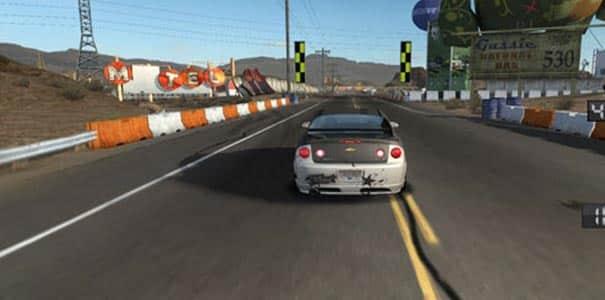 Aprendendo a dirigir em Need For Speed ProStreet.