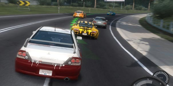 Corrida legalizada em Need For Speed ProStreet