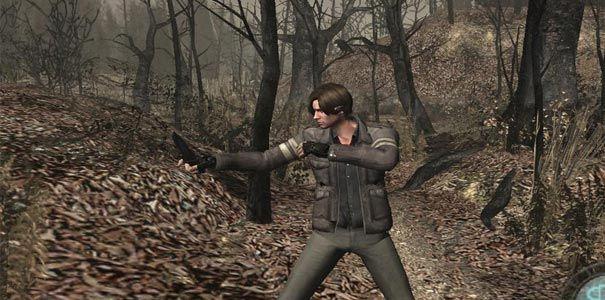 Resident Evil 4 - Uma das muitas roupas diferentes de Leon