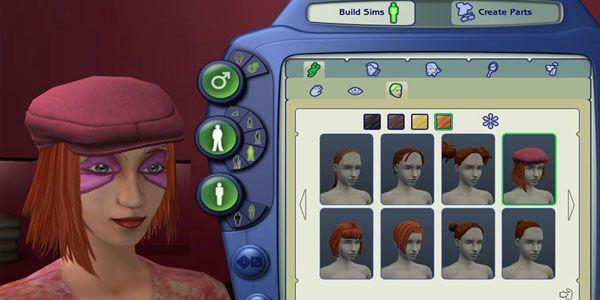 The Sims 2 - customização de personagens