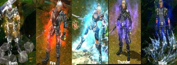 Tipos de aura Cabal
