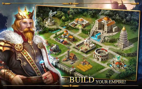 Age of Warring Empire - Construa o seu império