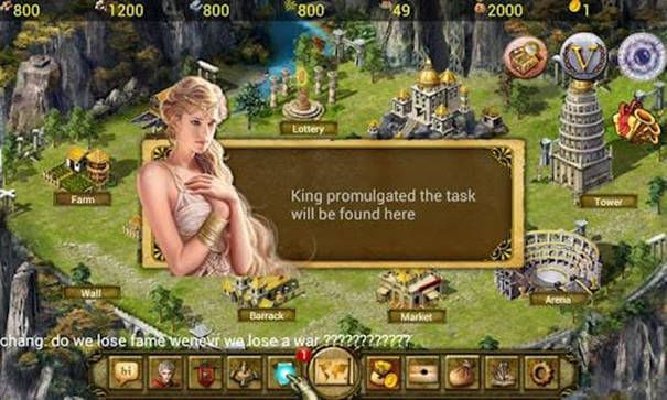 Age of Warring Empire - tutorial do game