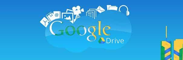 Backup online grátis no google drive.