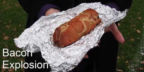 Bacon - Coisas estranhas enviadas ao espaço