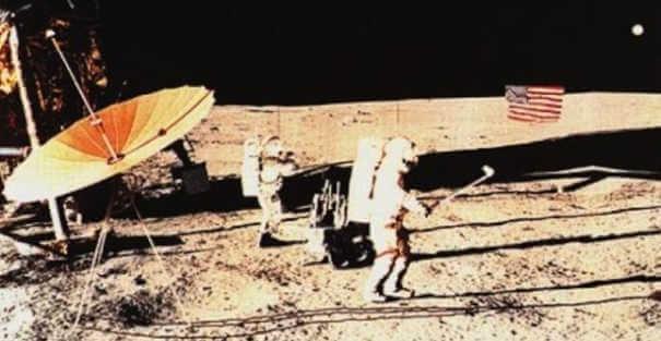 Bolas de golfe - Coisas estranhas enviadas ao espaço