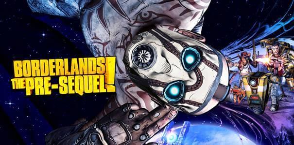 Capa do jogo Borderlands Pre-Sequel