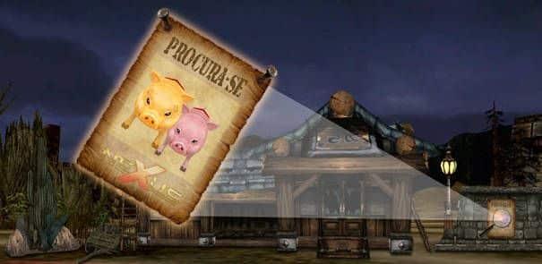Caçadores de recompensa: evento do Porco da Sorte em Cabal Nexus