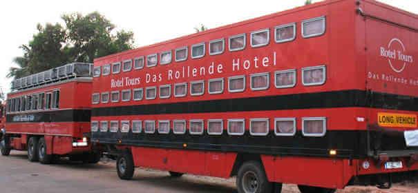 Caminhão hotel - Caminhões Mais Estranhos