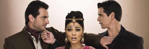 Caminho das Índias - atores globais da novela e as principais expressões indianas.