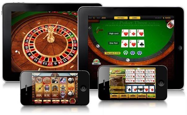 Jogos de casino online.