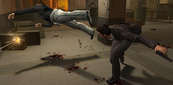Cena de luta a la Matrix em Max Payne 2.