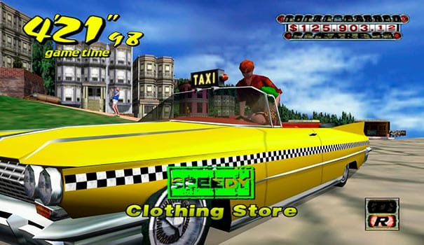 Crazy Taxi Dreamcast
