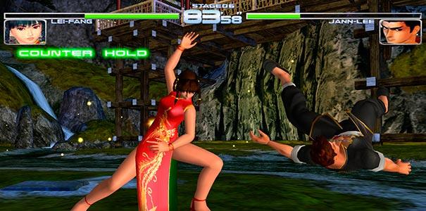 Lei-fang lutando contra Jann-lee.