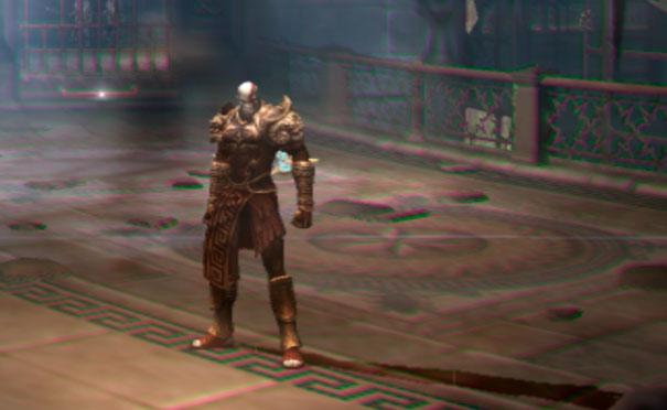 Efeito fatasma do God of War 2.