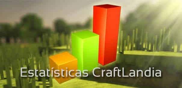 Estatisticas do Craftlandia