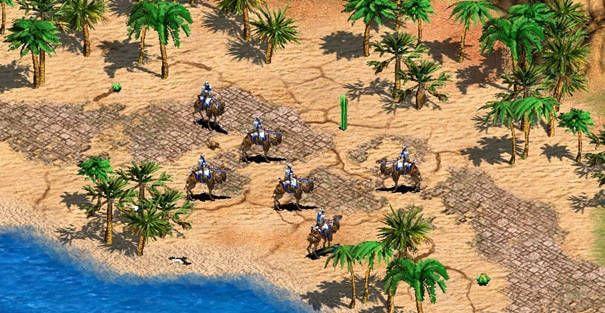 Imagem da expansão de Age of Empires 2