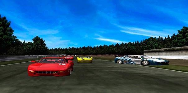 Ferrari F355 Challenge no Dreamcast.