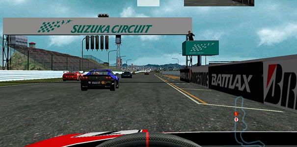 Suzuka Circuit em Ferrari F355.