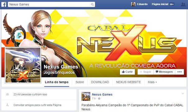 FanPage Cabal Nexus Online - informações e entretenimento.