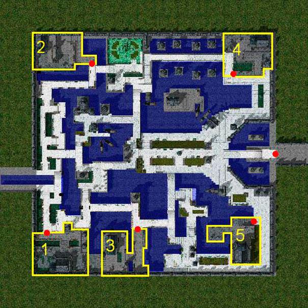 Mapas dos castelos: Luina.