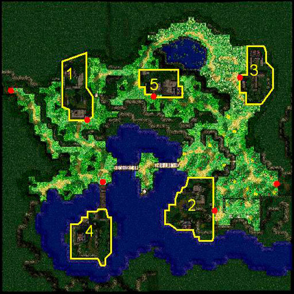 Mapas dos castelos: Greenwood Lake.