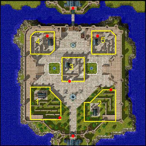 Mapas dos castelos: Valkyrie Realm.