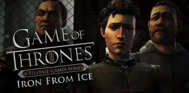 Capa do jogo Game of Thrones Iron From Ice