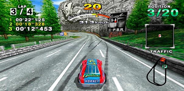 Gramado no Daytona USA 2001.