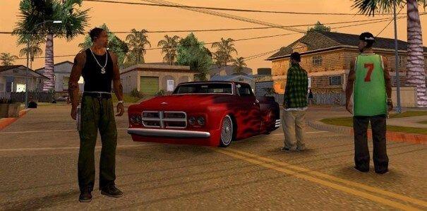 Homens Armados Em Grand Theft Auto San Andreas