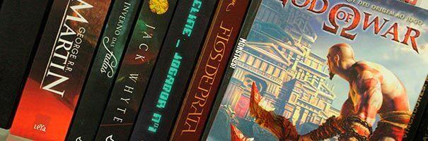 Alguns jogos baseados em livros.