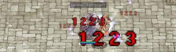 Habilidade Lâminas Destruidoras
