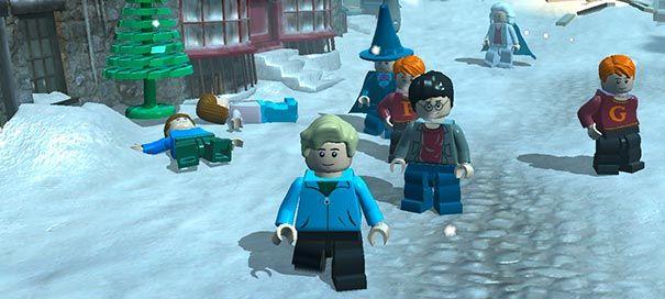 Harry Potter em versão Lego.