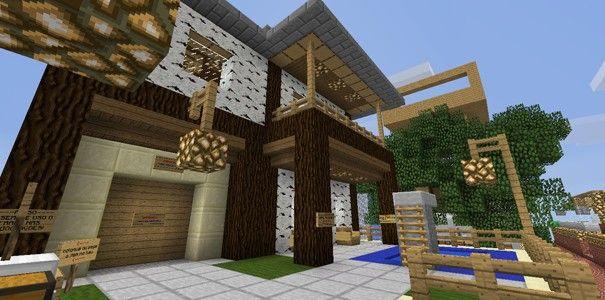 Casa no Minecraft