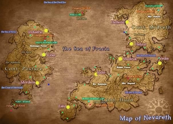 Cabal e Cabal 2 compartilham o mesmo mapa de localidade