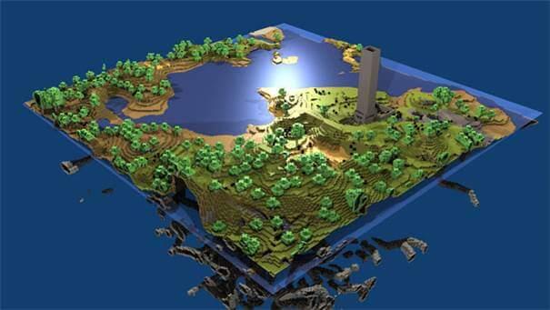 Mapa Minecraft