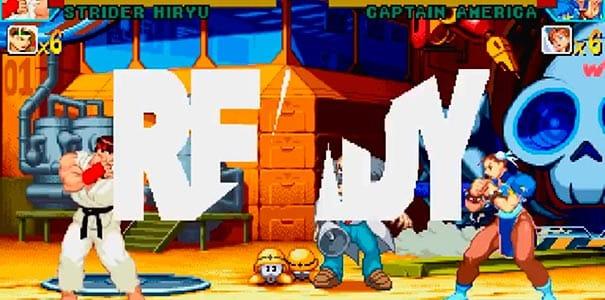 Marvel vs Capcom no Dreamcast.